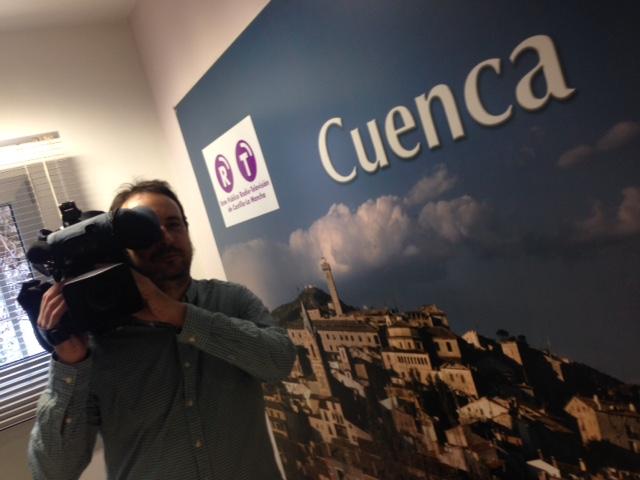 Nuevo cámara en CMT Cuenca al estar la plantilla «en cuadro»