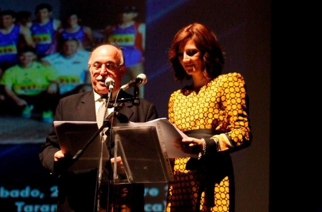 Diana Manzanares presenta junto a Gabaldón la «Gala de Atletismo» en Tarancón