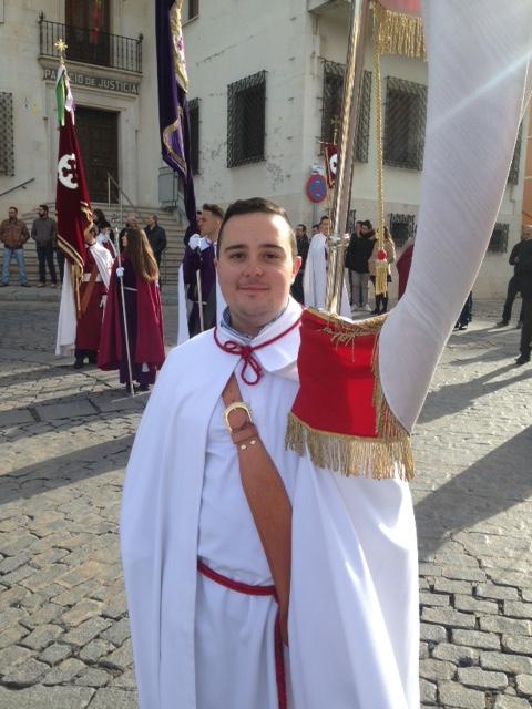Leo Cortigol participa en el «cierre» de la Semana Santa de Cuenca
