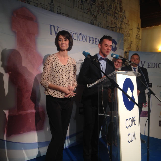 Premios COPE con Noe