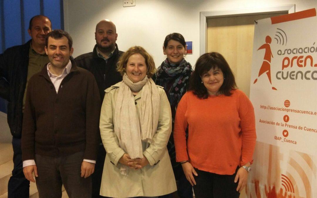 Nuria Wei es la nueva presidenta de la Asociación de la Prensa de Cuenca