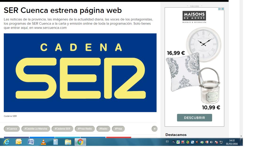 SER Cuenca ahora en la web
