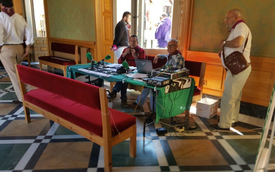 Sets de radios desplazados por San Mateo