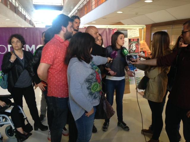 La Sexta visita Cuenca con el acto de Podemos