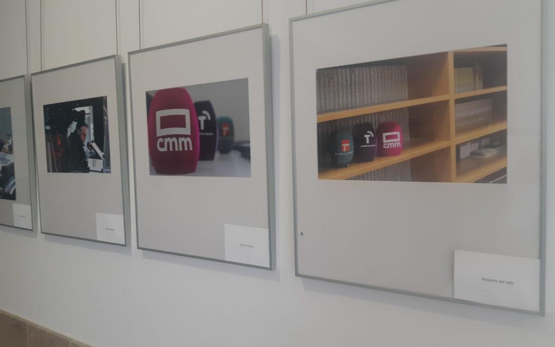 Noheda y CMMedia en la última expo de la Facultad de Comunicación