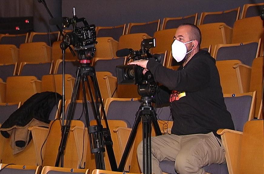 El cámara de las actuaciones del programa TALÍA