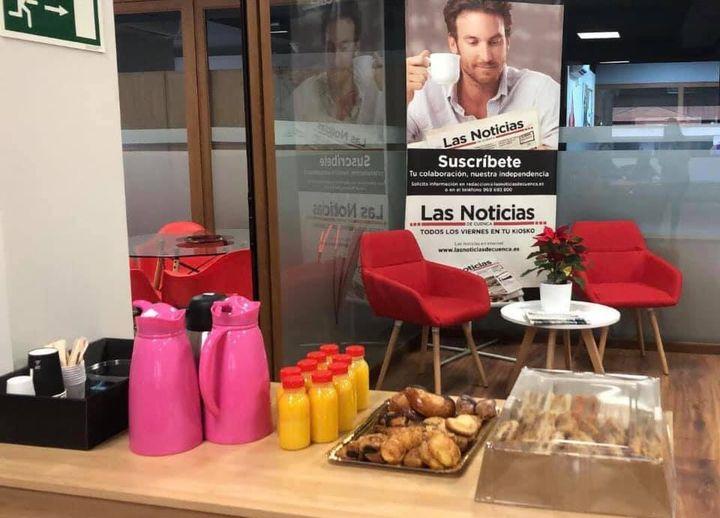 Globalcaja ofrece un desayuno a los medios por el patrón de los periodistas