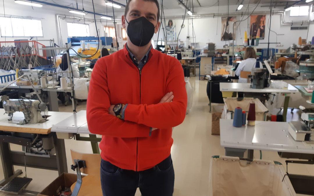 De becario de El Día a jefe de Textiles Campillo