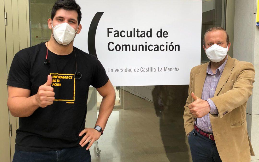 De alumno a ponente en la Facultad de Comunicación