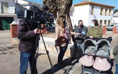 Así graba totales el equipo de RTVE Cuenca (VÍDEO)