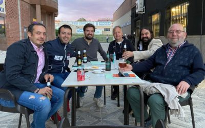 Reunión deportita en torno a la asociación