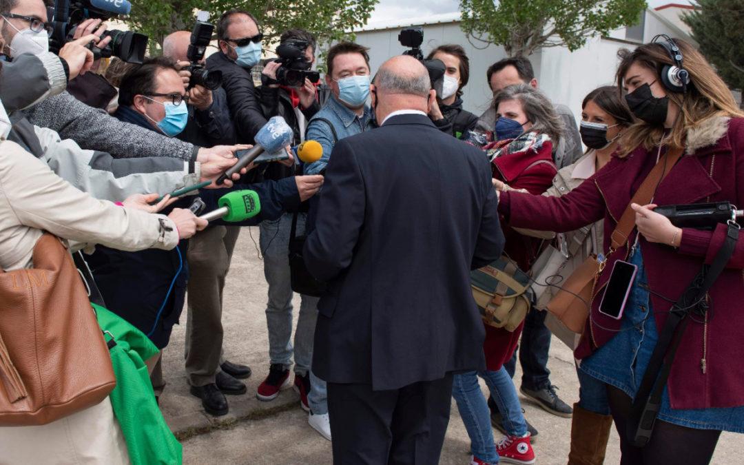 Revuelo por la visita de la Reina Sofía a Cuenca