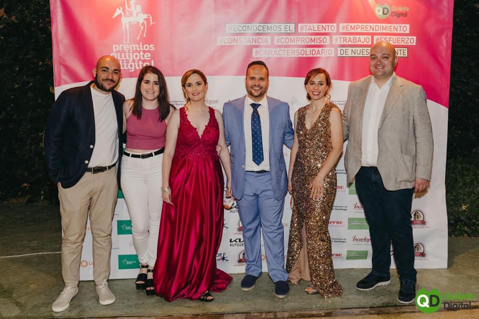 Éxito en la IV Gala de Quijote Digital