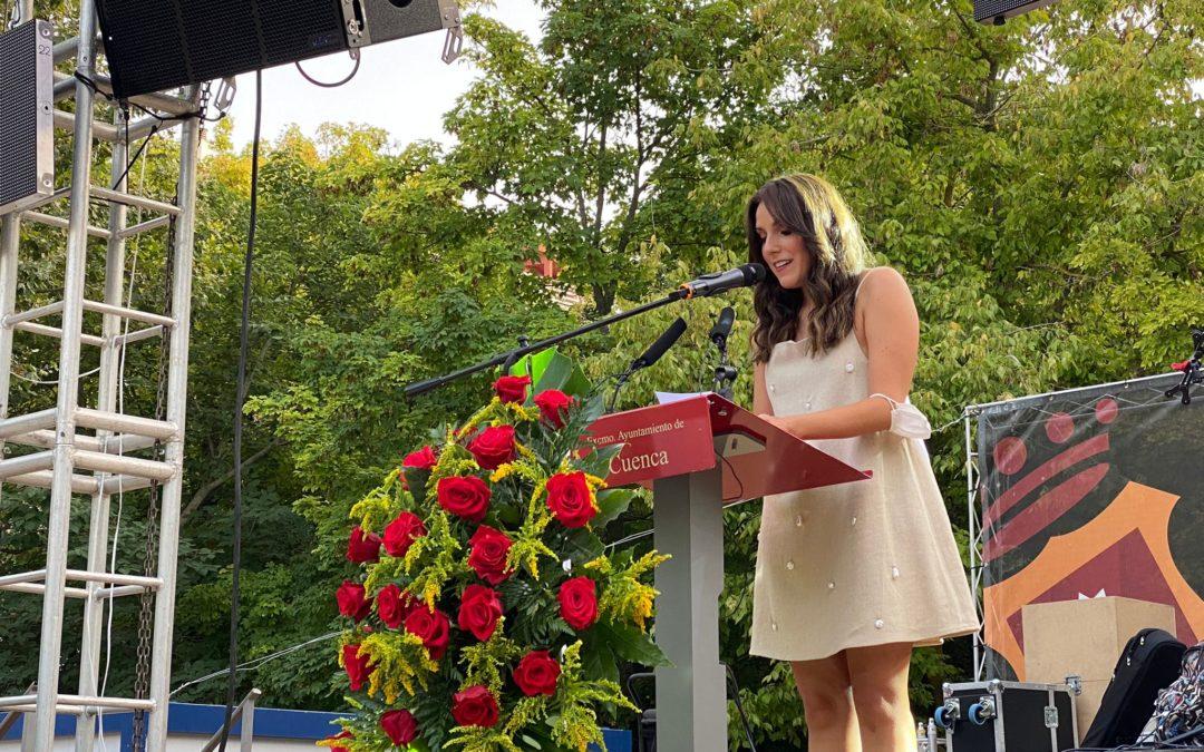 Carmen Alcaide presentó al pregonero de San Julián