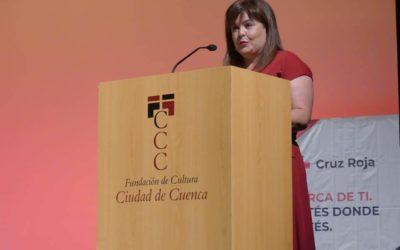 Mari Carm presentó el acto del Día Internacional de las Personas de Edad