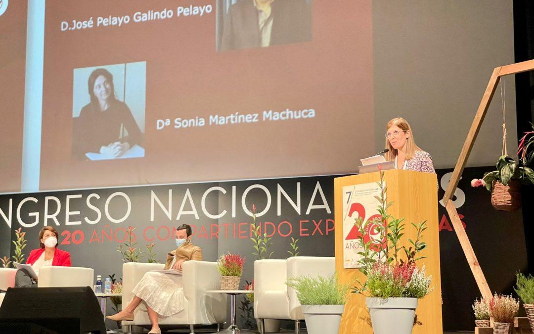 Bego Funcio presentó el VII Congreso Nacional de Administrativos de la Salud
