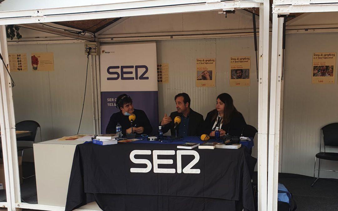 SER Cuenca en la Feria del Libro Cuenca Lee